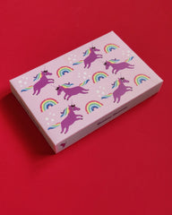 Rainbow Unicorn Stationery Set