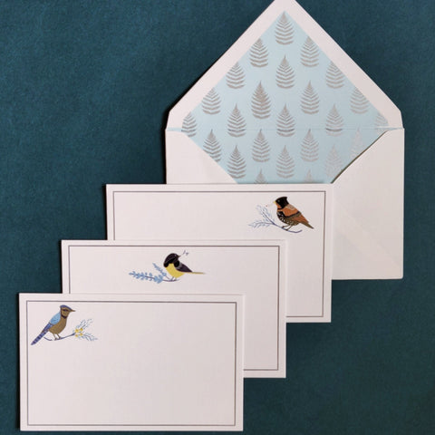 Blue Jay Stationery Set