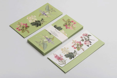 Botanical Money Envelopes