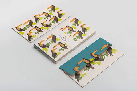 Toucans Money envelopes