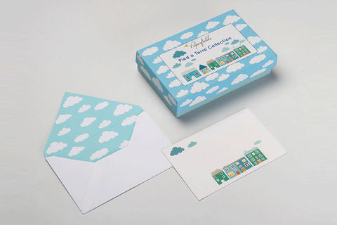 Pied-a-terre Stationery Set