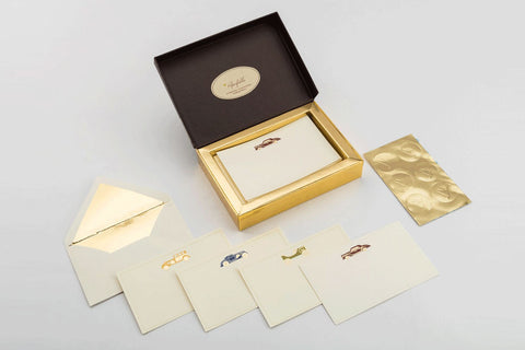 Vintage motor Premium Stationery Set