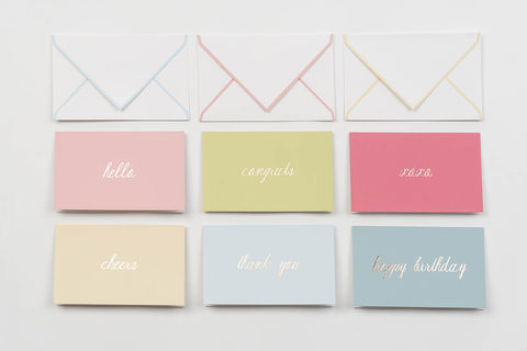 Greetings Stationery set
