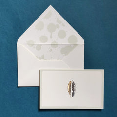 Feather Stationery set