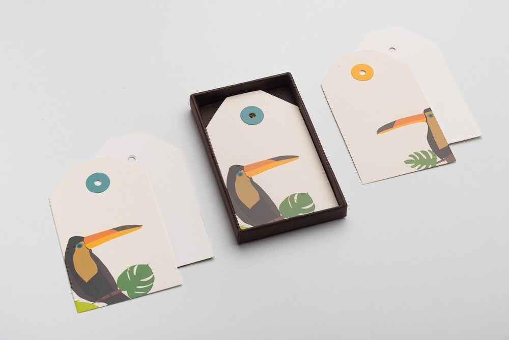 Toucan Gift Tags