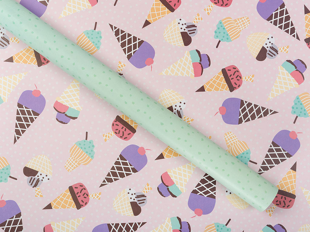 Ice Cream Gift Wrap