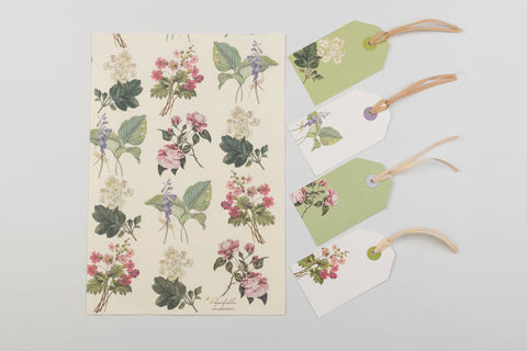 Botanical Wrap and Tag Set