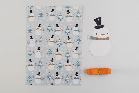 Frosty Wrap and Tag Set