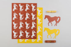 Horse Wrap and Tag Set