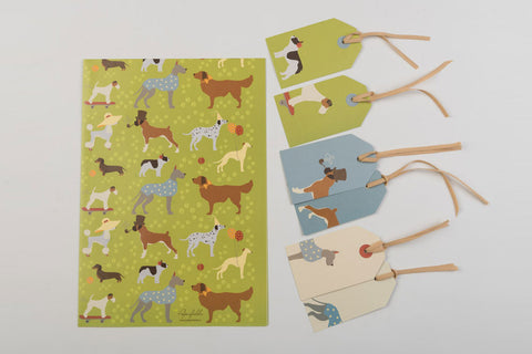 Pawsome Gift Wraps and Tags