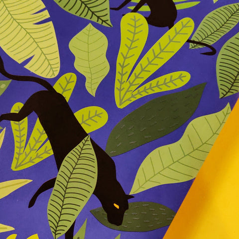 Black Panther gift wrap