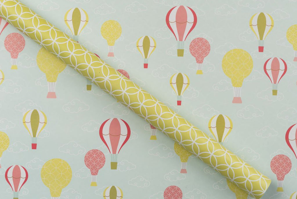 Hot Air Balloons Gift Wrap