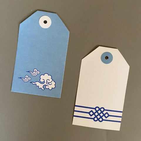 Ming Tags - Set of 24