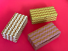 Chevron Half Kg Rectangle Confectionery boxes - set of 6