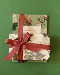 Botanical Notebook and Stationery Set