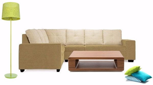Richmond Sofa Set (Green)