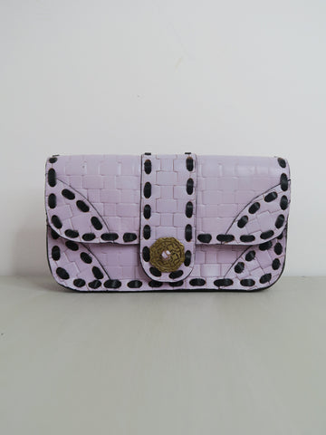 LAVENDER TETRIS CLUTCH (Reduced)
