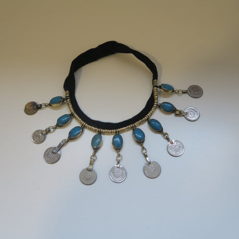 TRIBAL COIN  NECKLACE