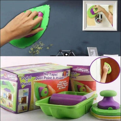 Paint Roller and Tray Set