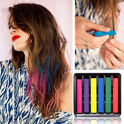 Beauty Convenient Temporary Super Hair Dye Colorful Chalk Hair Color