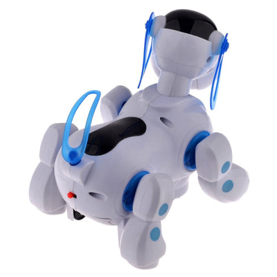 Smart Robot Electronic Walking Pet Dog Puppy Toys with Music Light for Children Kids