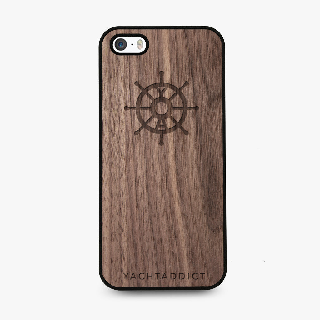 YACHTADDICT iPhone 5/5S/SE case - walnut - YACHTADDICT Ltd.