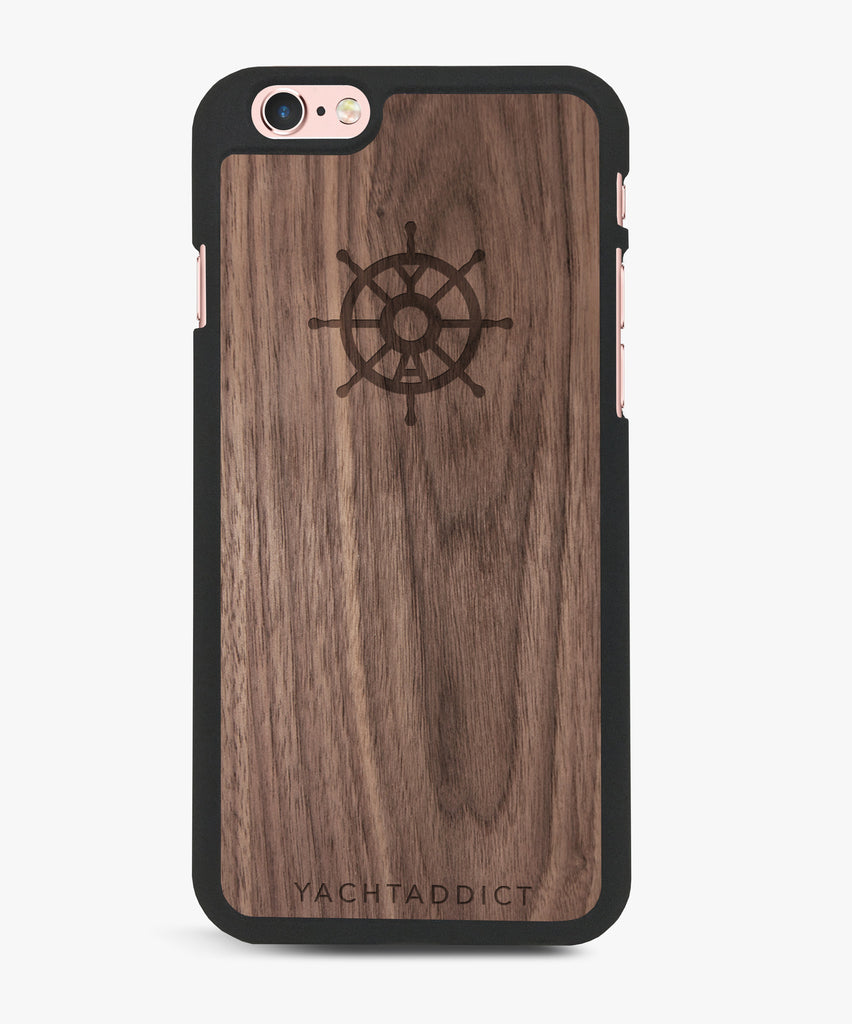 YACHTADDICT iPhone case - walnut - YACHTADDICT Ltd.