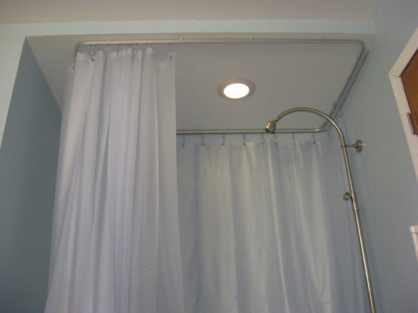 Mactrac Shower Curtain Tracks