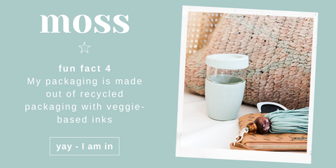 Australian Ethical and Sustainable Lifestyle Edit - the Moss Indi Cup