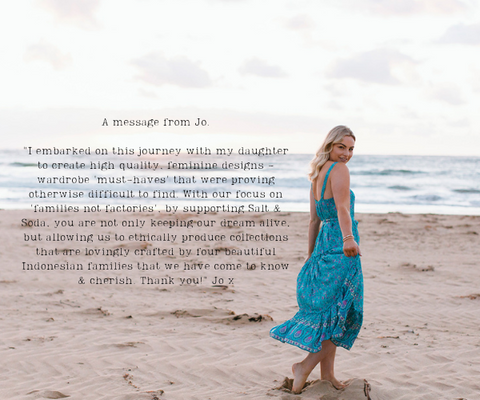 australian womens eco ethical and sustainable fashion brand hopes and dreams