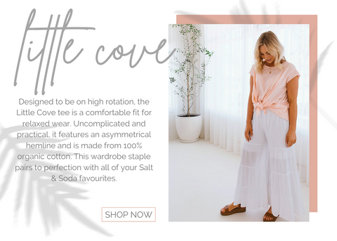 australian womens eco concsious fashion label organic little cove every day tee