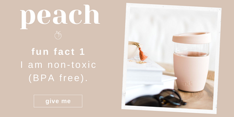 Asutralian Ethical and Sustainable Lifestyle Edit - The Peach Indi Cup