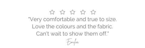 womens fashion label design five star review