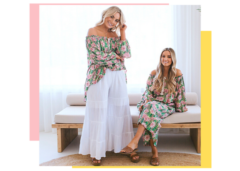 vacation holiday vibes with australian womens fashion beach summer label
