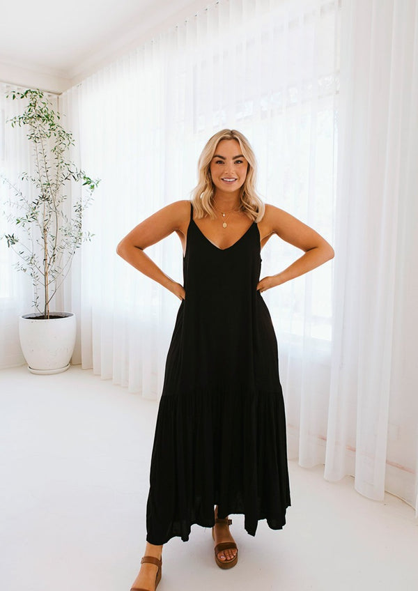 Marbella Dress Ebony