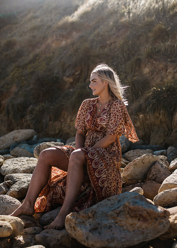 Molokai Dress Marigold