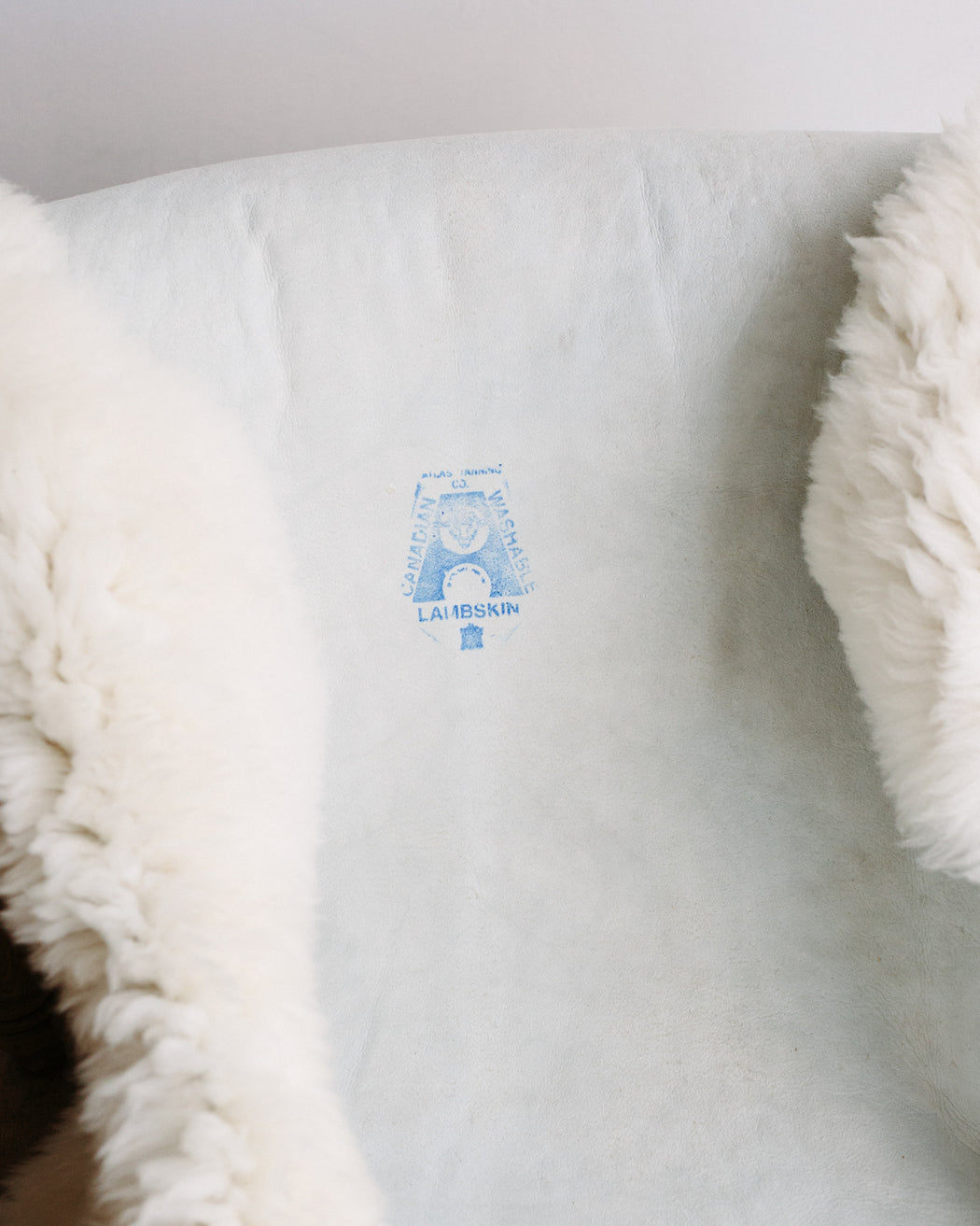 Canadian Sheepskin - shaggy white