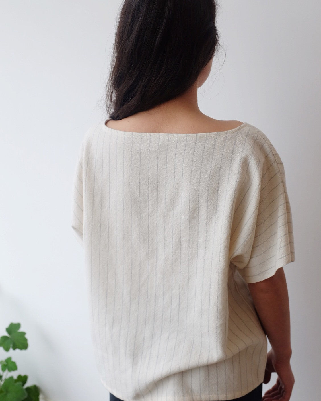 Selvedge Sleeve Blouse