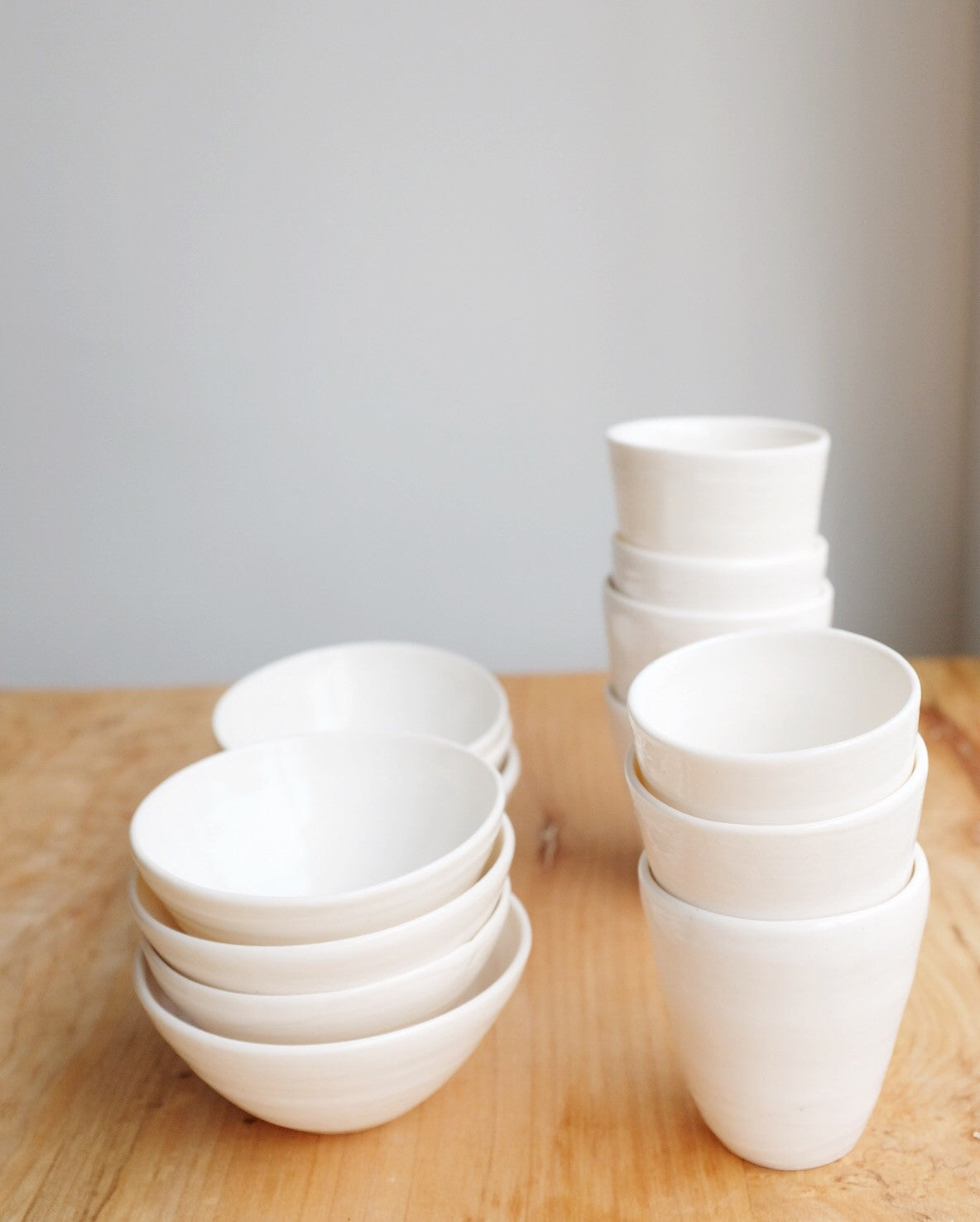 8 piece porcelain set