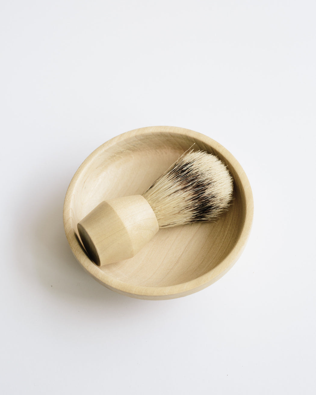 Hand Turned Shaving Brush
