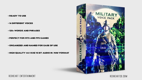 Military - Voice Pack