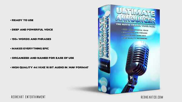 Ultimate Announcer - Voice Pack
