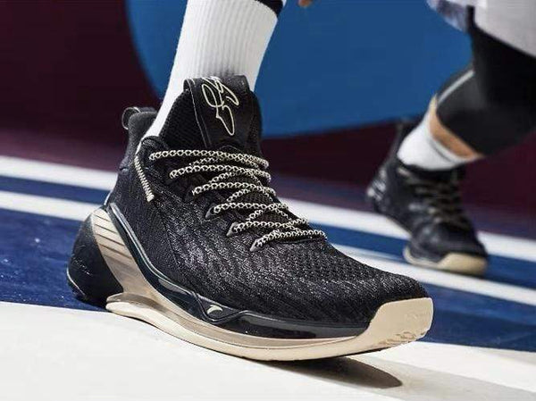 Anta Klay Thompson KT4 Low Gordon Hayward PE Black Gold