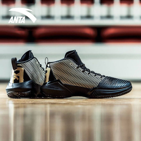 ANTA ANTA Shock the Game 2 Black/Gold