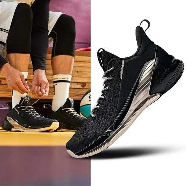 ANTA Basketball Anta Klay Thompson KT4 Low Gordon Hayward PE Black Gold