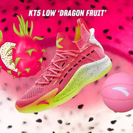 ANTA Basketball Anta Klay Thompson KT5 Low Dragon Fruit