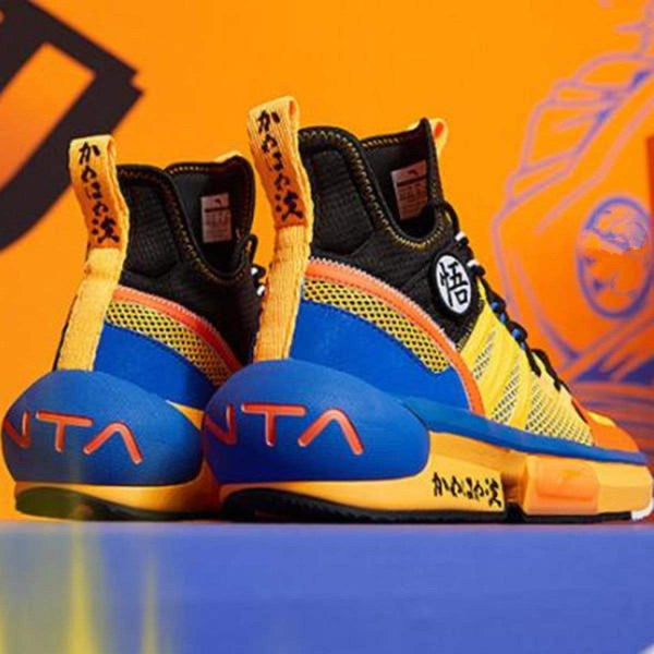 "ANTA Basketball Anta x Dragon Ball Super ""Son Goku"" Men's Basketball Culture Shoes"