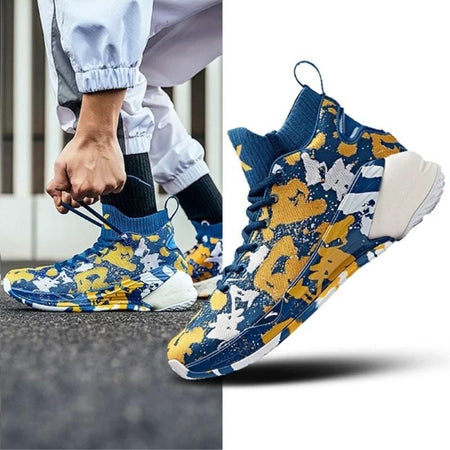 Anta Klay Thompson KT4 Blue&Gold Camo