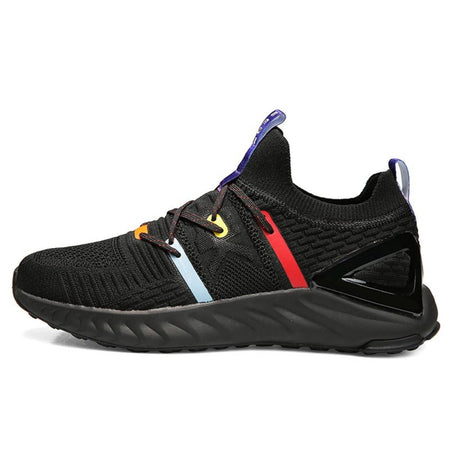 PEAK Basketball Peak TAICHI 1.0 PLUS Running Shoes Black/ Red/ Yellow