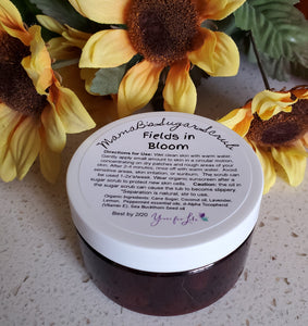 "MamaB's ""Fields in Bloom"" Sugar Scrub"